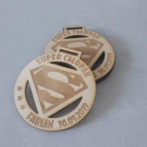 Dzień chłopaka – medal ze sklejki – MD001