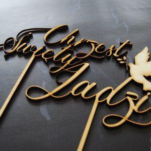 Topper na tort – chrzest święty
